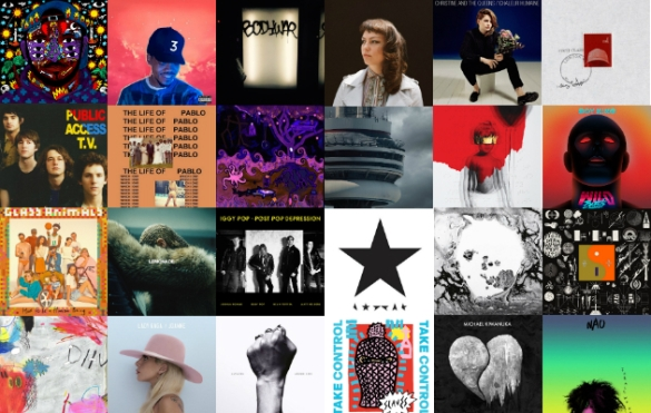 Top 25 Best Albums From the Last Decade [2010 – 2019] – Pinnacle of